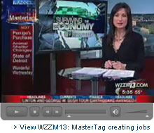 View WZZM13: MasterTag creating jobs